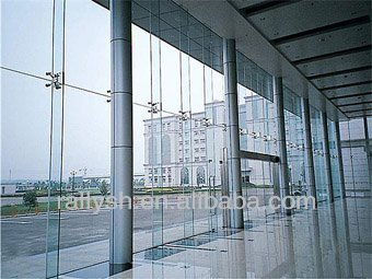 Glass Fin Spider For Glass Curtain Wall System - Buy Glass Fin ...