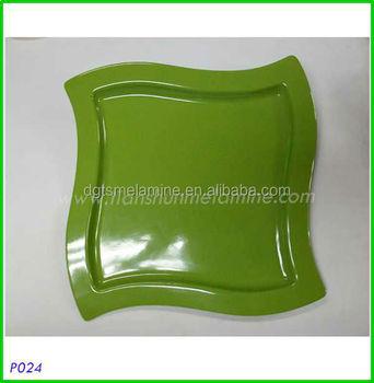 Modern restaurant plates water wave shaped melamine dish in 2017  sc 1 st  Alibaba & Modern Restaurant PlatesWater Wave Shaped Melamine Dish In 2017 ...