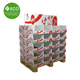 Folding Cardboard Supermarket Pallet Displays With Separate Tray For Plush Toys