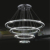 contemporary circle k9 hanging crystal lamp
