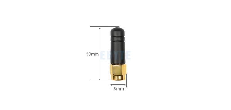 Low cost Ebyte TX2400-JZ-3 SMA-J 2.0dBi mini antenna 2.4GHz