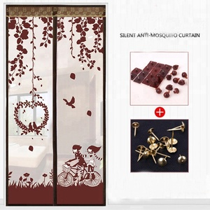 BaiChuan anti mosquito door curtain protector cheap mosquito net for door