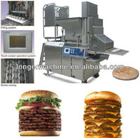 High quality Automatic Multi Forming Machine|Pork Burgers Forming Machine|Automatic Round Burger Forming Machine
