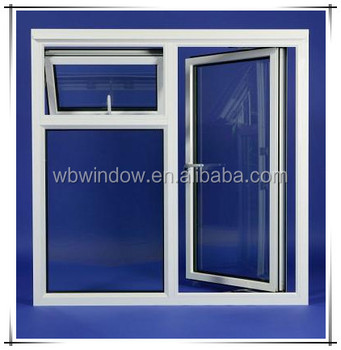 Normal White Pvc Profiles For Upvc Window Horizontal 60 65