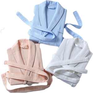 Wholesale Chinese personalized design colored bathrobe spa
