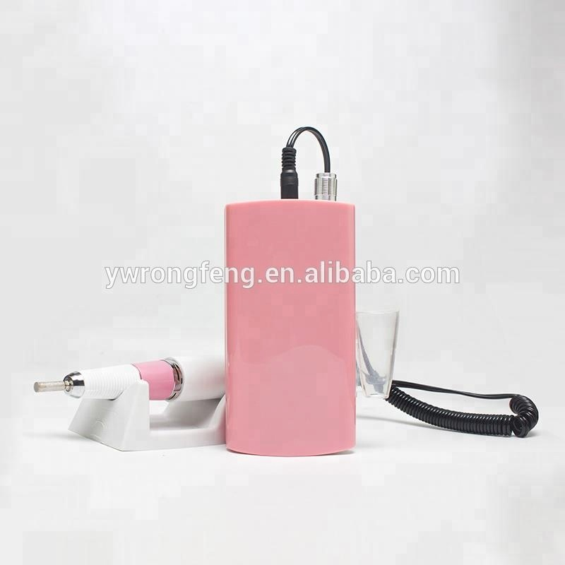 Beautiful NEW Portable electric nail drill 35000 RPM with nail drill vacuum for Nail salon