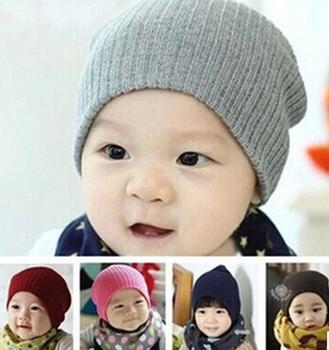 Unisex kapas beanie topi untuk bayi baru lahir lucu bayi  laki-laki perempuan lembut 71a05e3afd