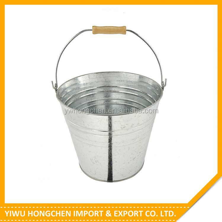 Best selling custom design galvanized tubs and buckets for wholesale