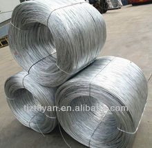 High-carbon galvanized steel wire
