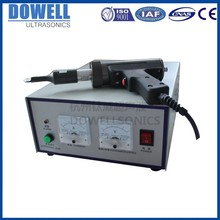 high power ultrasound ultrasonic soft tube sealing machinery for bb cream slicing cutter