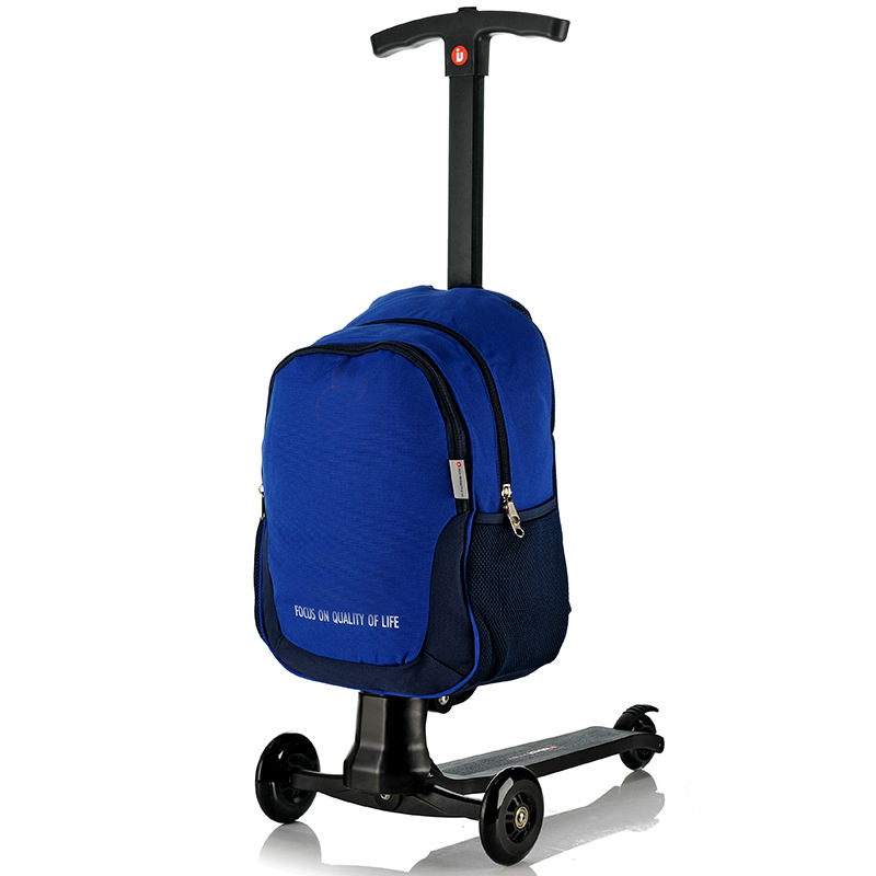 Foldable Travel Trolley Bag Smart Kids Scooter Luggage - Buy ...