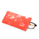 Your own logo printed colorful microfiber cloth spring glasses pouch