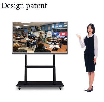 Grote Scherm LED touch smart board interactive tv muur panel whiteboard school touch smart board