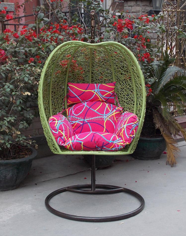 Indoor Living Room Hanging Chair Egg Shape Swing - Buy ...