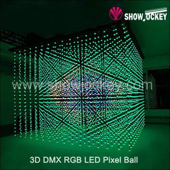 Led Pixel Mapping Ball Curtain / 3d Rgb Pixel Ball / Artnet Klingnet Ball  Light - Buy High Quality Led Pixel Ball,3d Rgb Ball,3d Light Led Product on