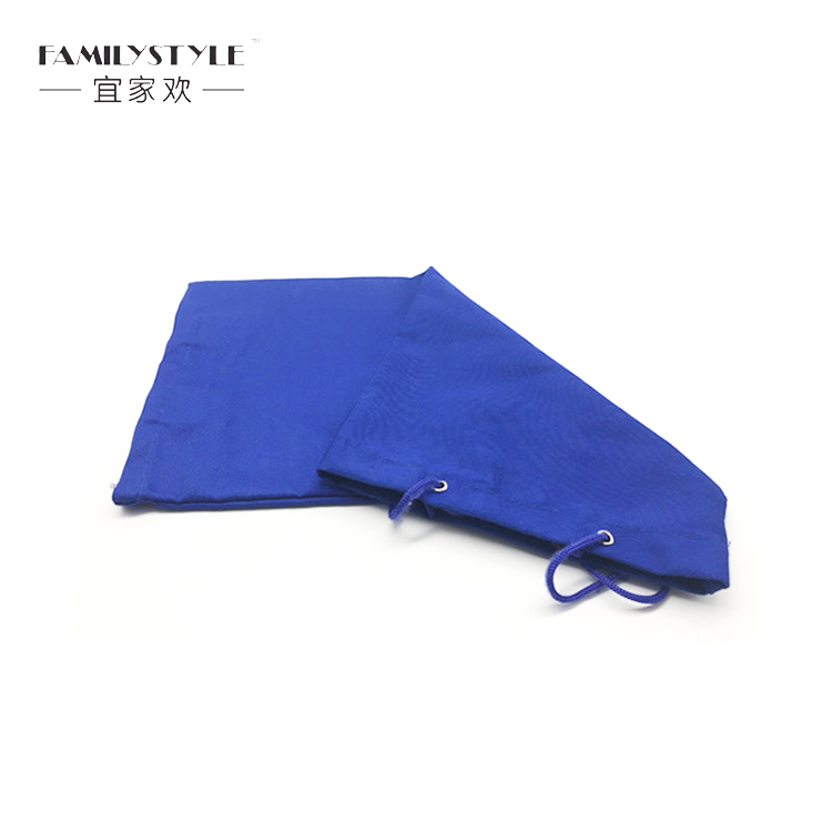 Blue Cotton String Bag Eco-friendly Newspaper Bag Printed Packaging