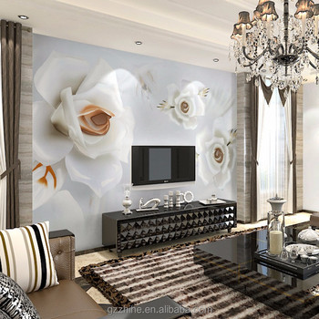 Wholesale Wholesale home decor mirror wall paper beautiful animal