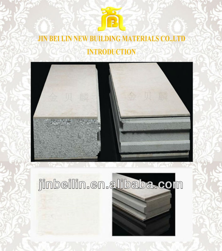 Composite Board,High Quality Light Weight Sandwich Panel Price Export