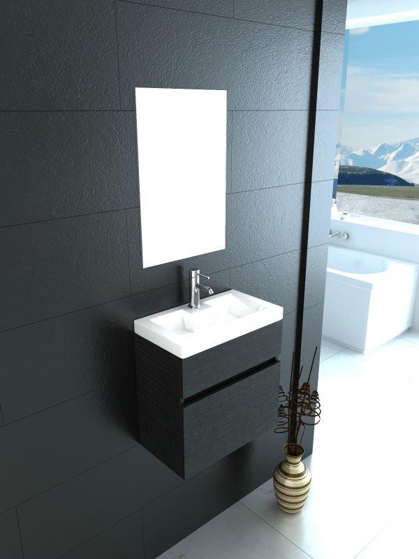 Pequeno armário do banheiro MFC, mini gabinete, armárioPenteadeiras para ban -> Mini Armario De Banheiro