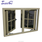 fire rated aluminum window manufacturer aluminium double glass casement windows with colonial bar