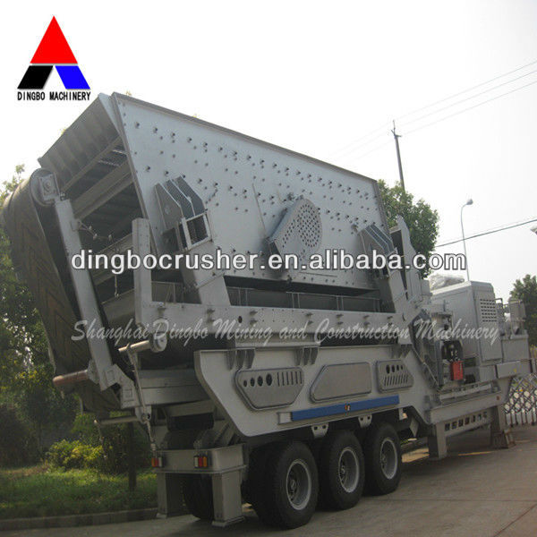 granite aggregate plant and Limestone aggregate plant to be mobile