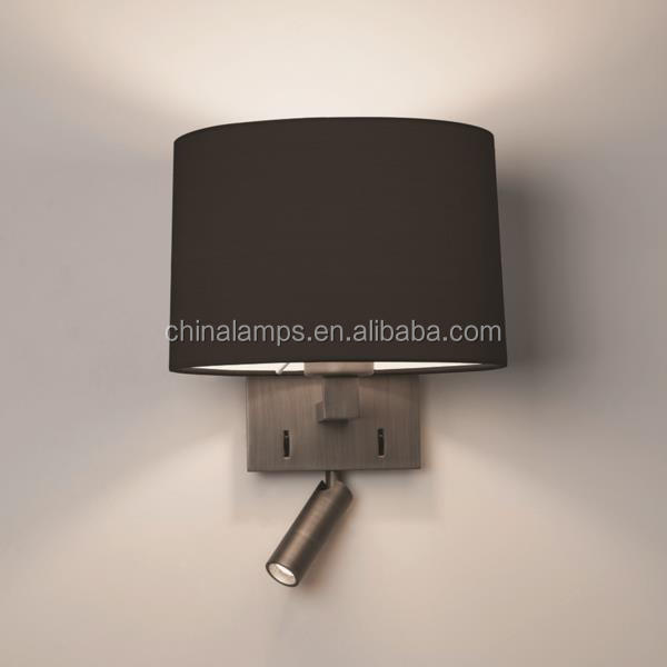 Modern Hotel Mirror Bedside Table Switch Wireless Led Wall Lamps ...
