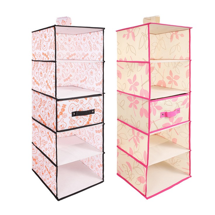 Buy Ng Type Drawer Five Layer Of Wardrobe Closet Hanging Storage Bag Hang Students Finishing Box In Cheap Price On Alibaba
