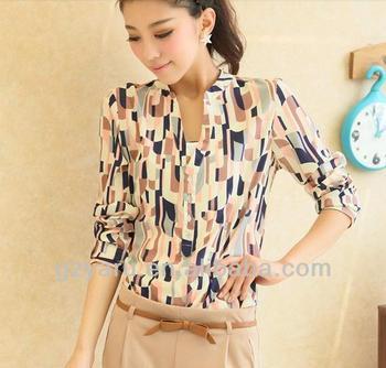 ladies korean fashion women formal office wear long sleeve