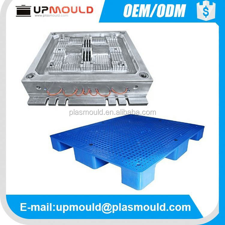 HDPE single faced type plastic injection pallet mold