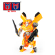 wholesale cheap manual deformation trans robot toy car with voices lighting
