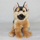 Plush german shepherd dog, plush german shepherd, german shepherd plush toy
