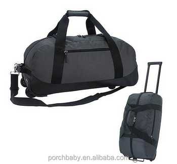 23b108d54c5 Best selling travel world travelling bags with trolley, factory wholesale  rolling tote bag wheels