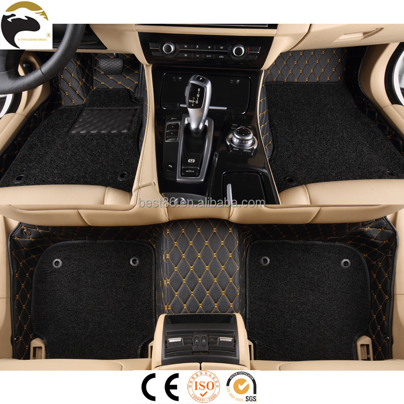 Middle and high end market car floor mat