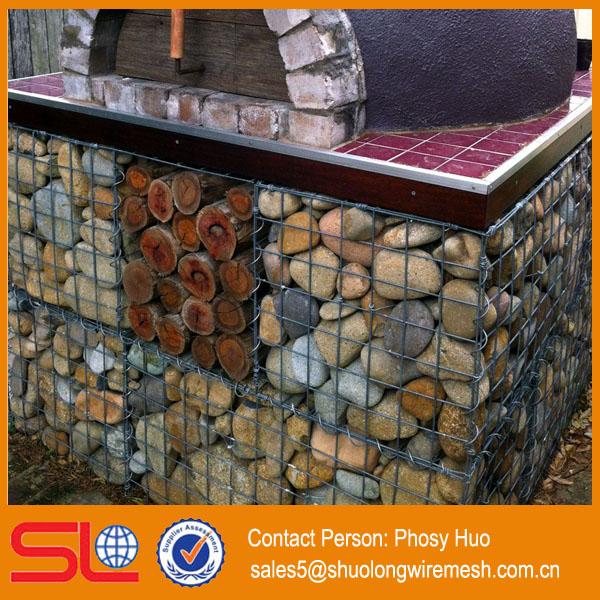 Meilleur prix gabion pierre cage pour mur de sout nement for Prix pierre pour gabion
