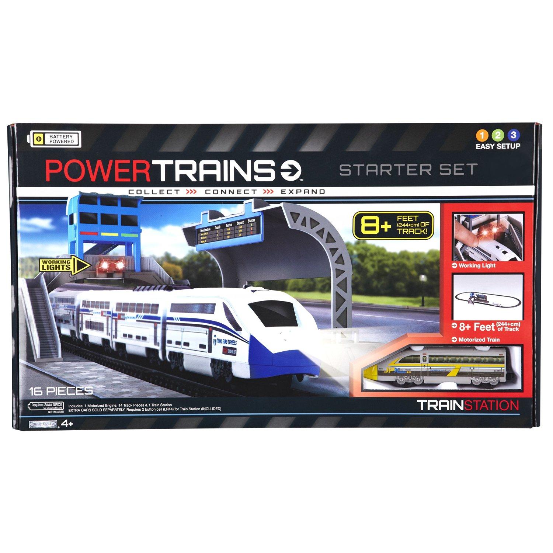 Power City Trains Starter Set - Train Station