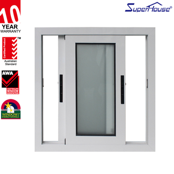 low e double glass aluminium frame hopper window gril design window - Double Glass Picture Frame