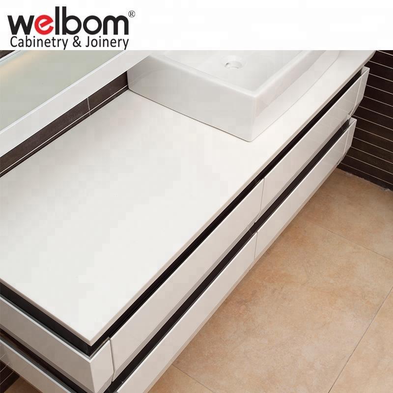 Mobiliário de casa de banho estilo americano moderno branco