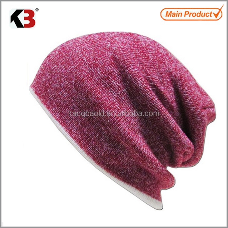 2017 Promotional high quality wool acrylic wool toque winter plain beanie