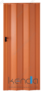 12mm Chinese high quality Bathroom PVC Folding Door for Arab market