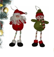 European and Aeria best seller christmas gifts outdoor decorations cheap santa snowman christmas ornaments