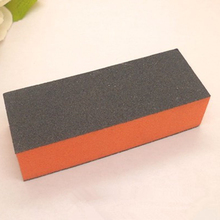 5 pcs Fashion Nail Polish Glass Rubbing Nail Art Burnishing Stick Manicure Grinding Strip Square Nail