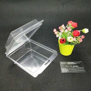 Customized Fruit Plastic Clear PVC Packaging Food Tray Wholesale
