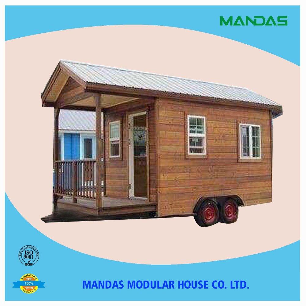 Mini casas peque a casa sobre ruedas casa remolque casas - Casas prefabricadas con ruedas ...