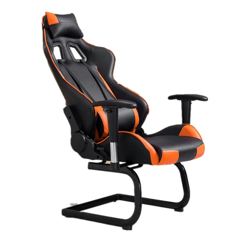 2018 Red Black Ergonomic Swivel Gaming Chair Without