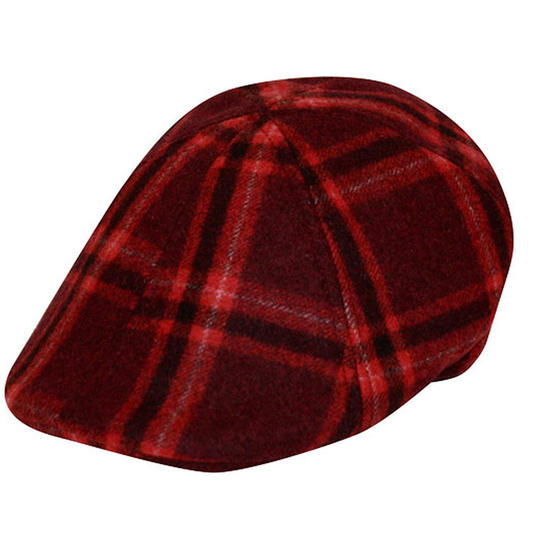 a3ba5a0dac9e1 Get Quotations · EPOCH Irish Wool duckbill IVY Flat Cap For Men newsboy  Gatsby Driver Caps Hat