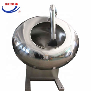 low price industrial commercial Chewing gum sugar coating manufacturing machine