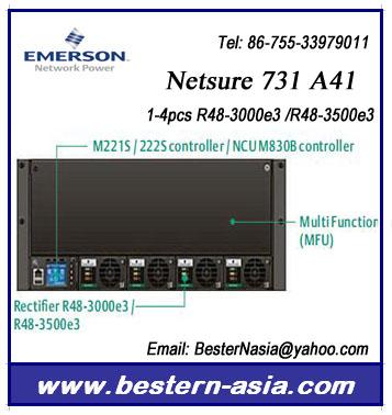 48v Dc Power System Emerson Netsure 731 A41 (r48-3000e3,R48-3500e3 ...