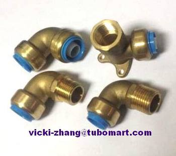 Lead Free Push Fit Plumbing Fittings For Push Fit Fittings