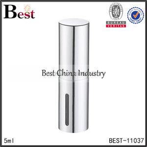 Shanghai BEST 10ml Aluminum Refillable Perfume Atomizer With Pump Sprayer