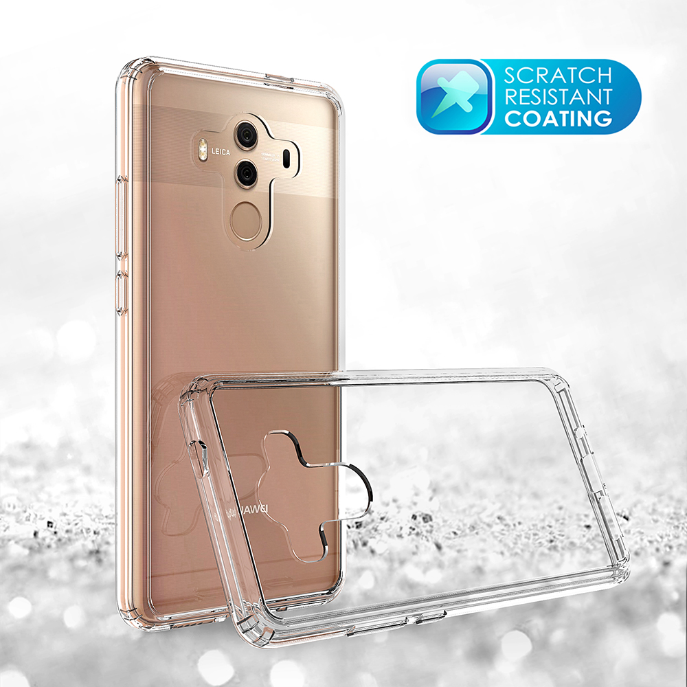 For Huawei Mate 10 Pro Popular Design TPU PC Transparent Protective Mobile Phone Case
